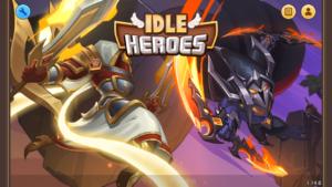 Idle Heroesアイドルヒーローズ_タイトル