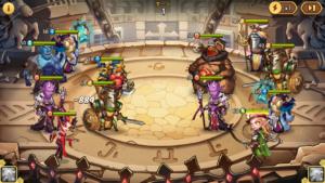 Idle Heroes(アイドルヒーローズ)チャンピオンの試練_バトル