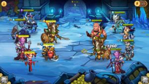 Idle Heroes(アイドルヒーローズ)勇者の試練_バトル