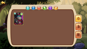 Idle Heroes(アイドルヒーローズ)スキン_スキン所持