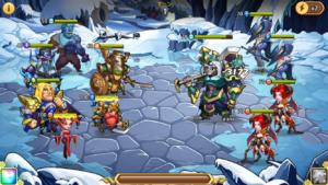 Idle Heroes(アイドルヒーローズ)遺失の氷原_5-20