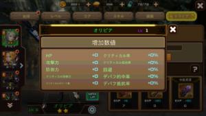 RF Online Mトライブ強化_強化前ステータス