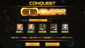 RF Online M試練の塔_クリア