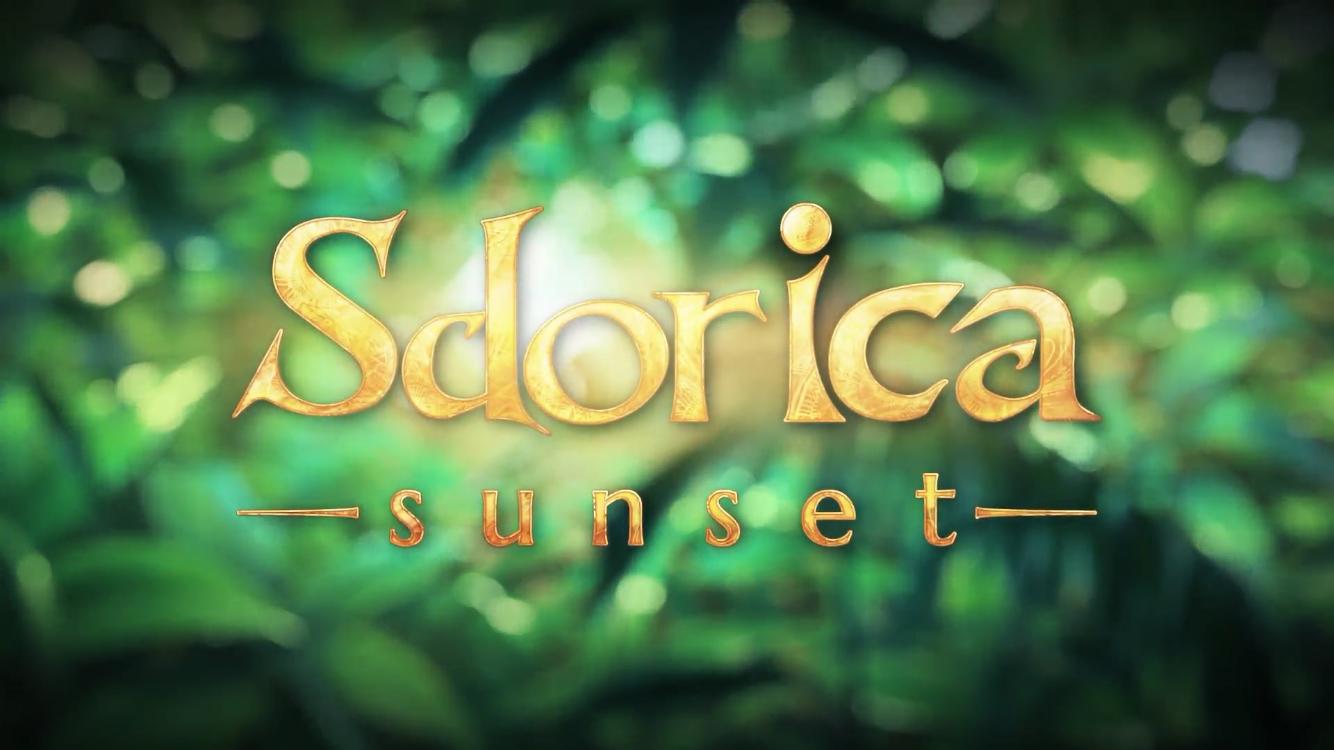 Sdorica -sunset-(スドリカ)チュートリアル_アニメタイトル