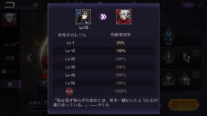 ファントムブレイド絆_スキルレベル