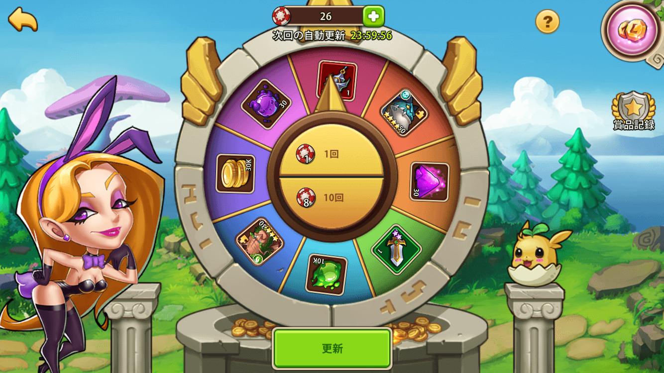 Idle Heroes(アイドルヒーローズ)カジノ_コモンカジノ
